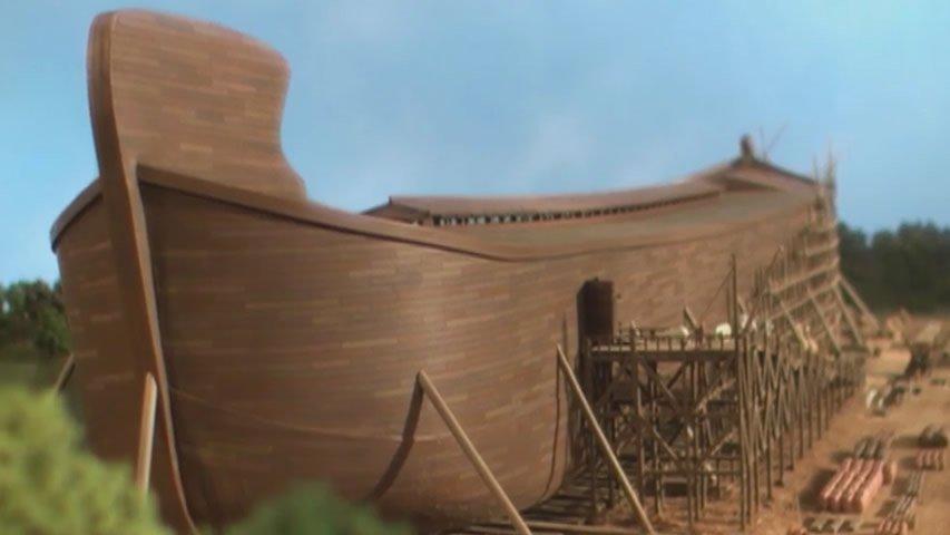 God Speaks, Noah Listens and Obeys
